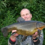 9lbs 10oz Tench Horseshoe lake June 2011