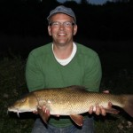 Richard and his 8lbs 4oz barbel