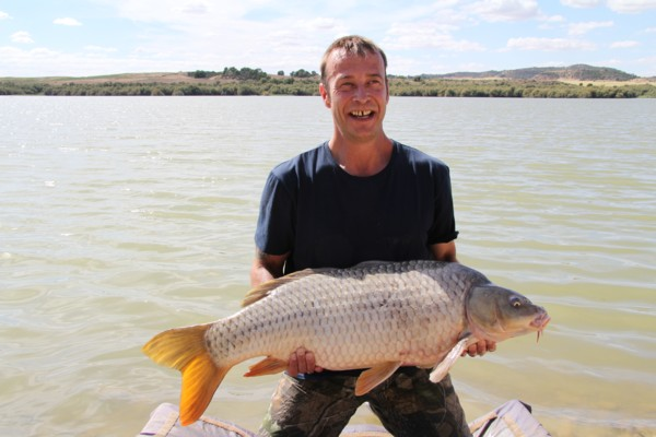 Mick and his 28lb 14oz carp