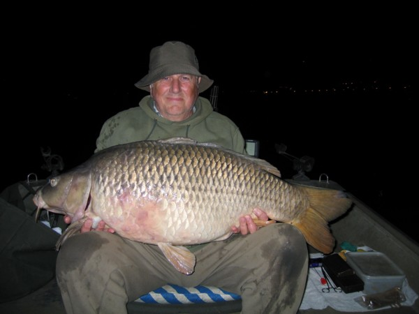 Alan with a 51lb common