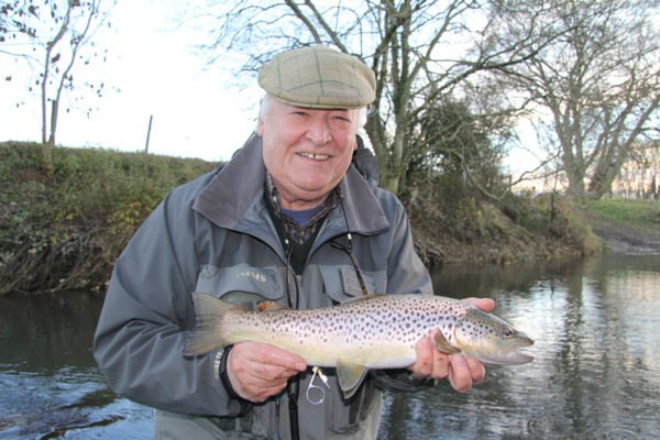 Harry and a great trout
