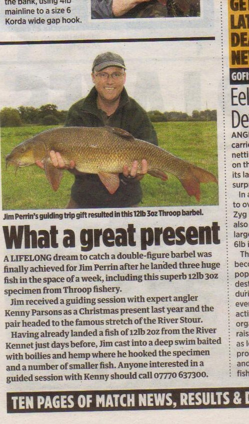 Jim and his large barbel