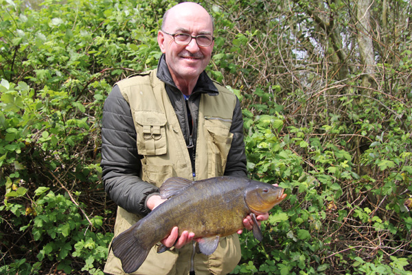 6lbs 6oz tench for Paul