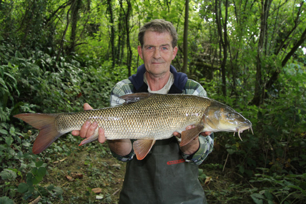 Alan and his 8lbs 8oz barbel