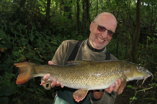 Clive with a good barbel a