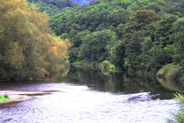 Wye in late summer colours