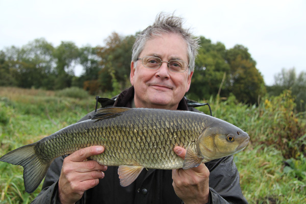 4lb 8oz chub for Rod