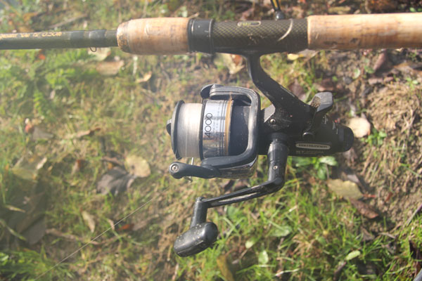 Fox Duo half pound test curve rods and Shimano ST4000 reel perfect for big perch