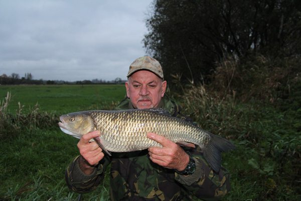 Graham and his 6lbs 4oz chub