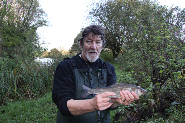 Stuart and a 14oz grayling