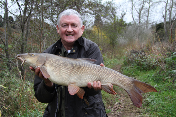 Toms 10lbs 6oz barbel