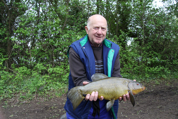 Another nice tench for David