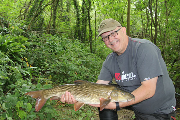 Bill and his 8lbs 3oz barbel