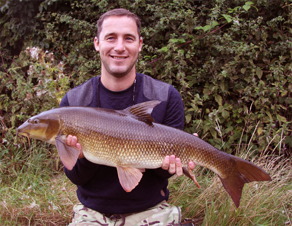 Chris 13lbs 14oz barbel