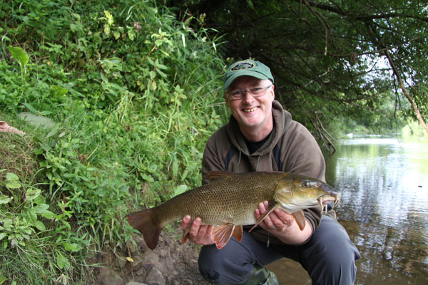 Daffers with a 6lb 15oz barbel