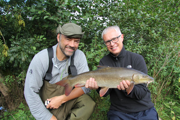8lbs plus barbel for Colin a