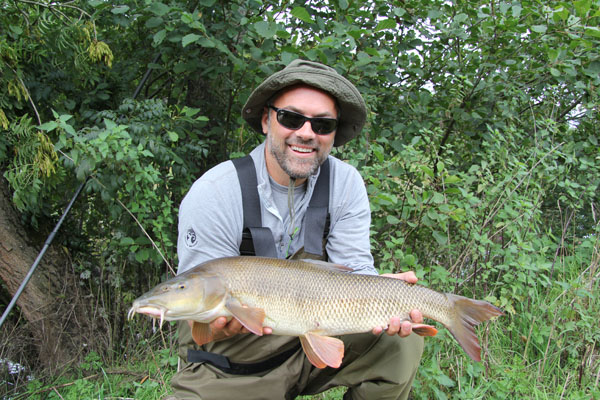 Brian and another 9lbs 2oz barbel a