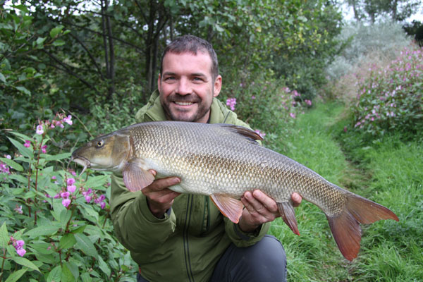 John with his 9lb barbel a