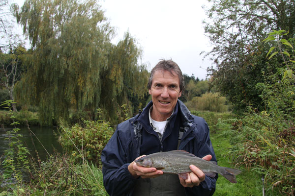 John and his 1lb 5oz grayling