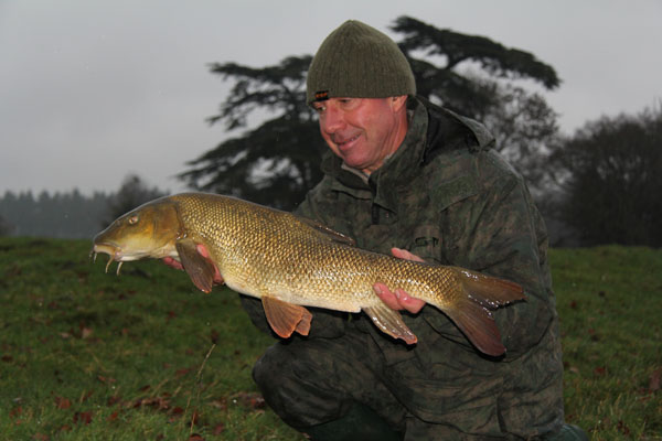 Mark and his 8lb barbel