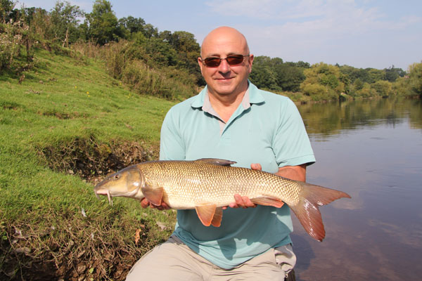7lbs 1oz barbel for Roger