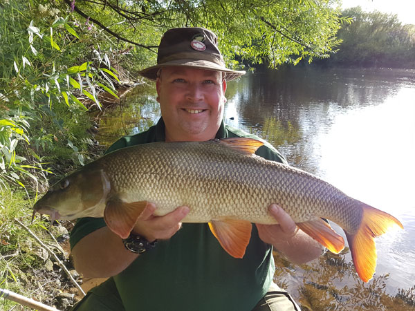 8lbs 9oz barbel for Carl